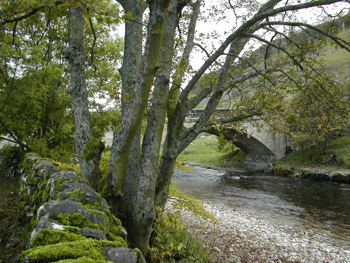 Bridge over the River Wharfe at Kettlewell