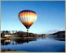 Hot air balooning is one of the best way to see the Yorkshires National Park in all is glory