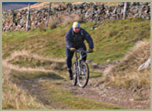 Just one of the bike routes to challenge you on your holiday in the Yorkshire Dales National Park